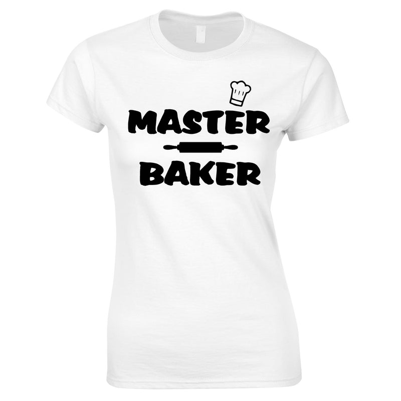 Master Baker Top In Black