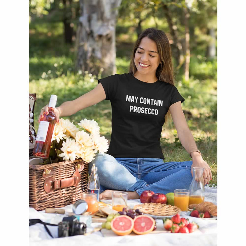 May Contain Prosecco Women's Slogan Top