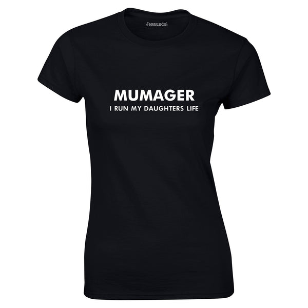 Mumager Top In Black