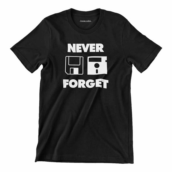 Never Forget Floppy Disk T Shirt