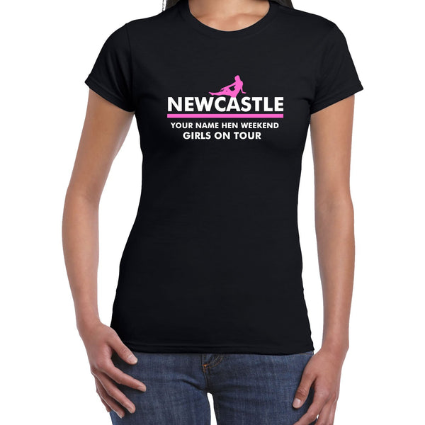 Newcastle Hen Do T Shirts