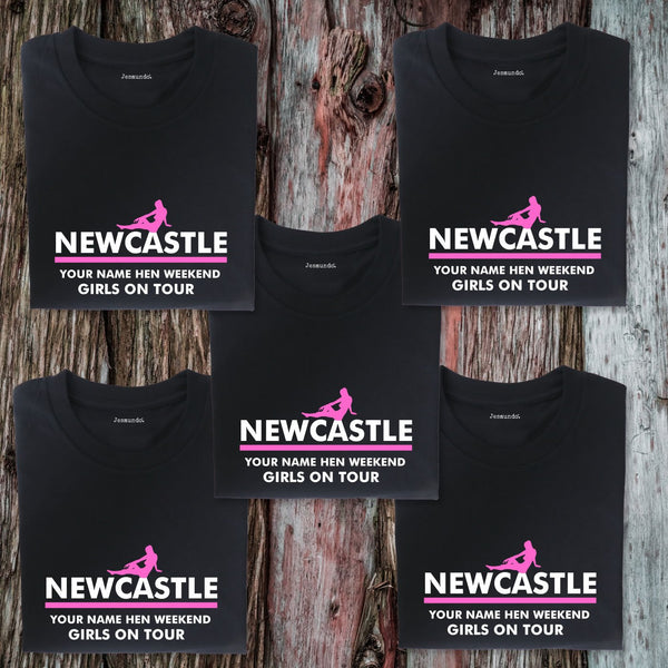 Newcastle Hen Weekend T Shirts
