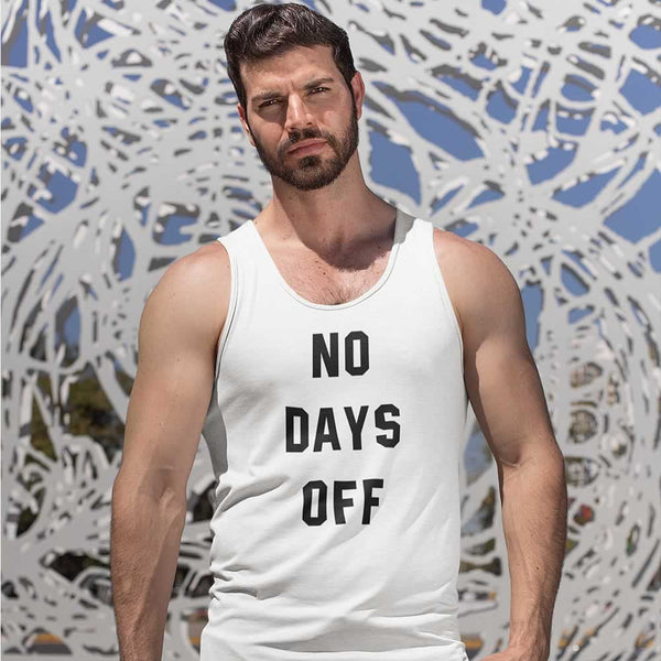 No Days Off Gym Vest For Men