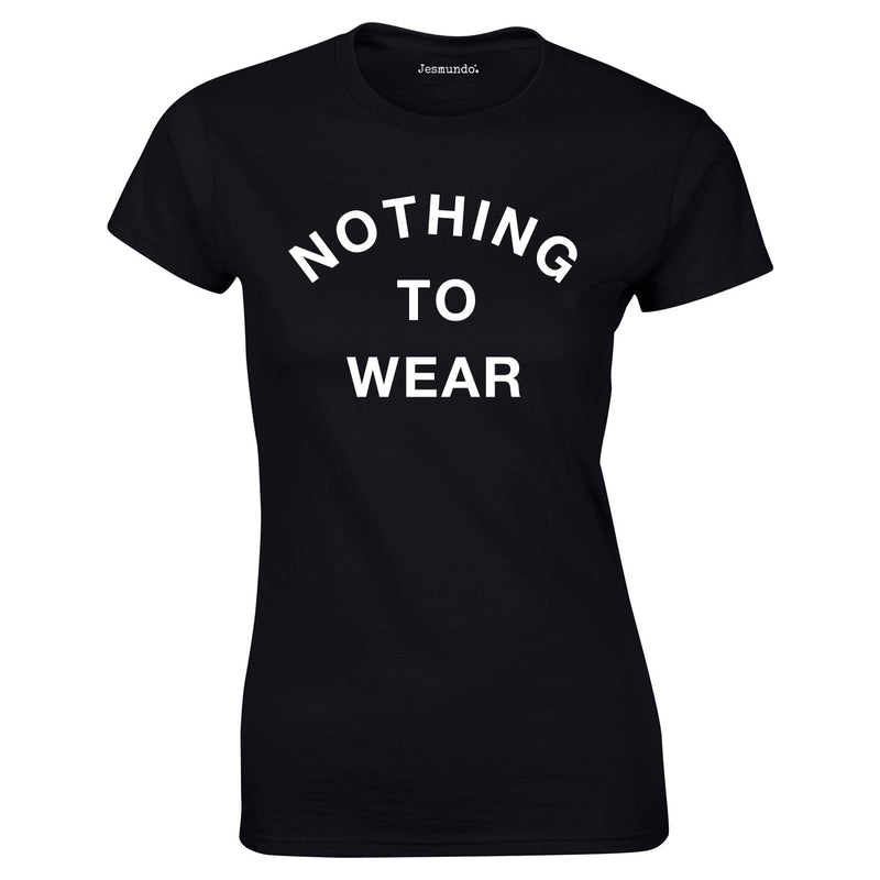 SALE - Nothing To Wear Womens Tee - Medium