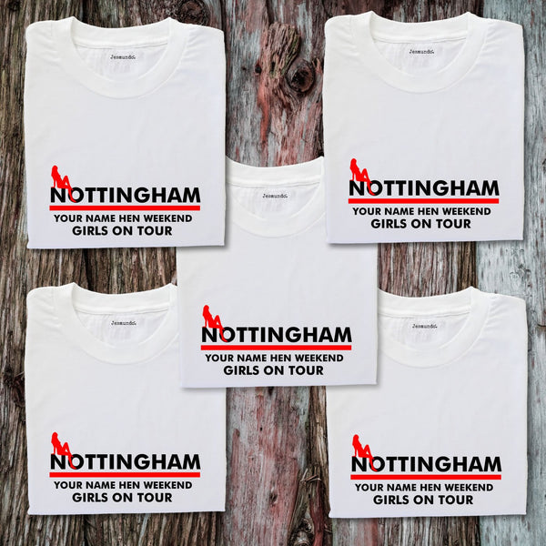 Nottingham Hen Weekend T Shirts