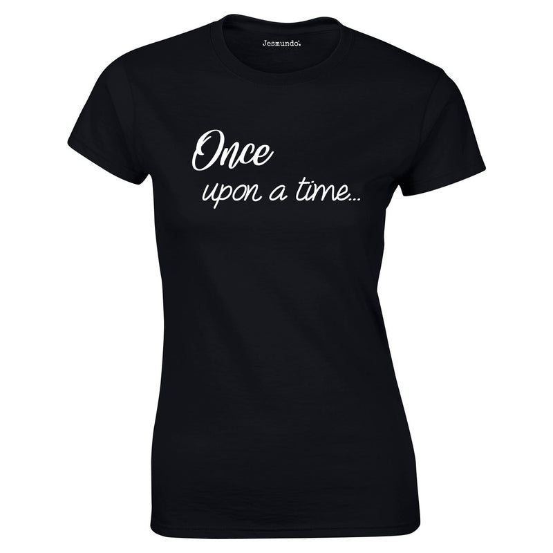 Once Upon A Time Women's Top In Black