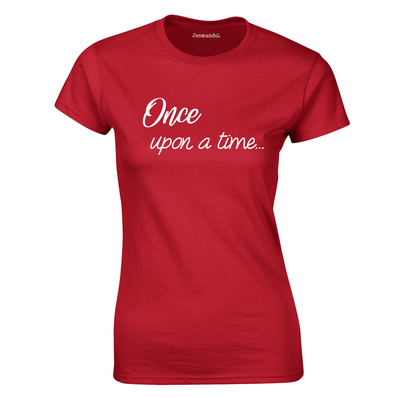 Once Upon A Time Women's Top In Red