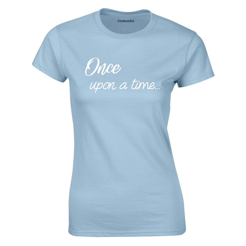 Once Upon A Time Women's Top In Sky