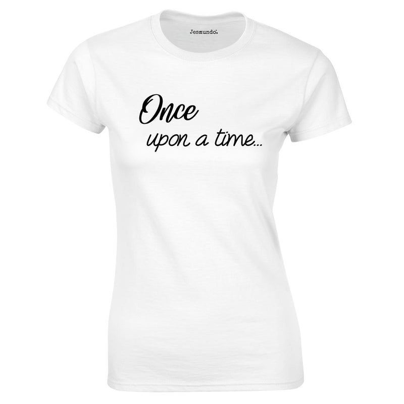Once Upon A Time Women's Top In White