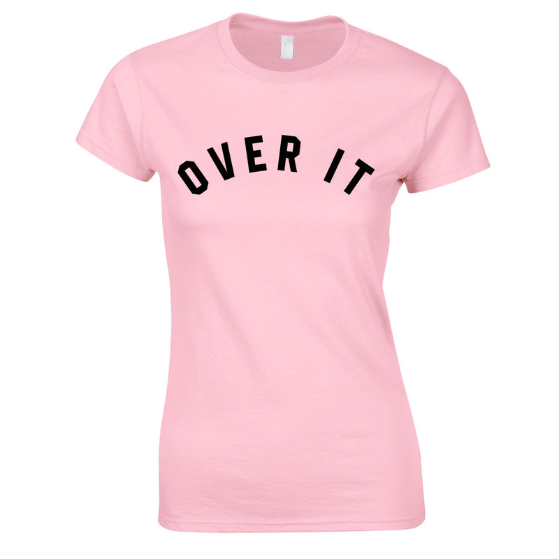 Over It Top In Pink