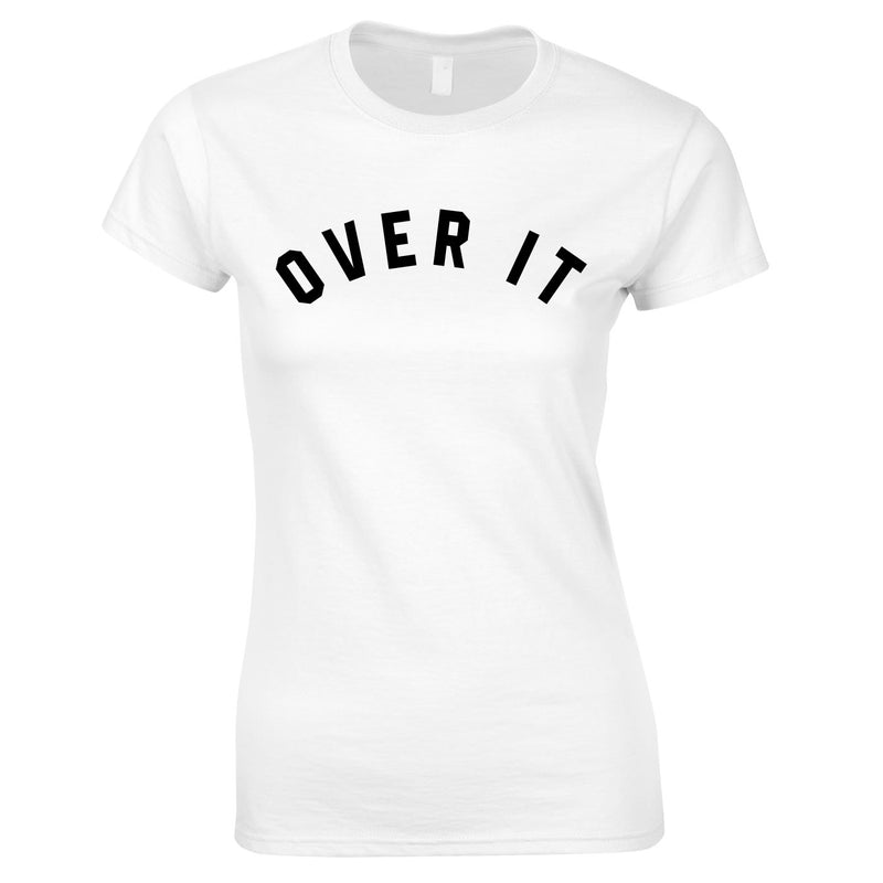 Over It Top In White