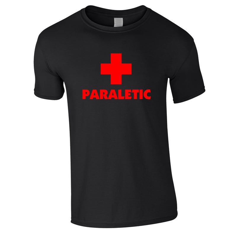 Paraletic Tee In Black