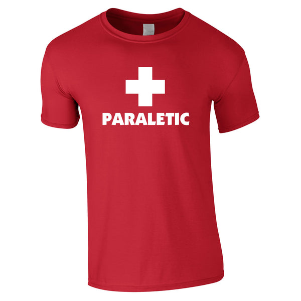 Paraletic Tee In Red
