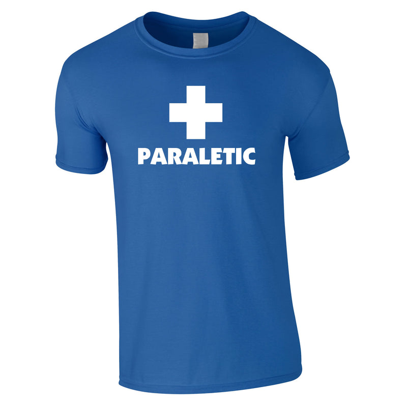 Paraletic Tee In Royal