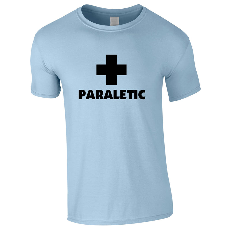 Paraletic Tee In Sky