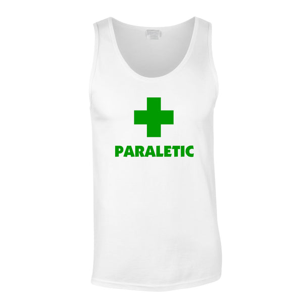 Paraletic Vest In White