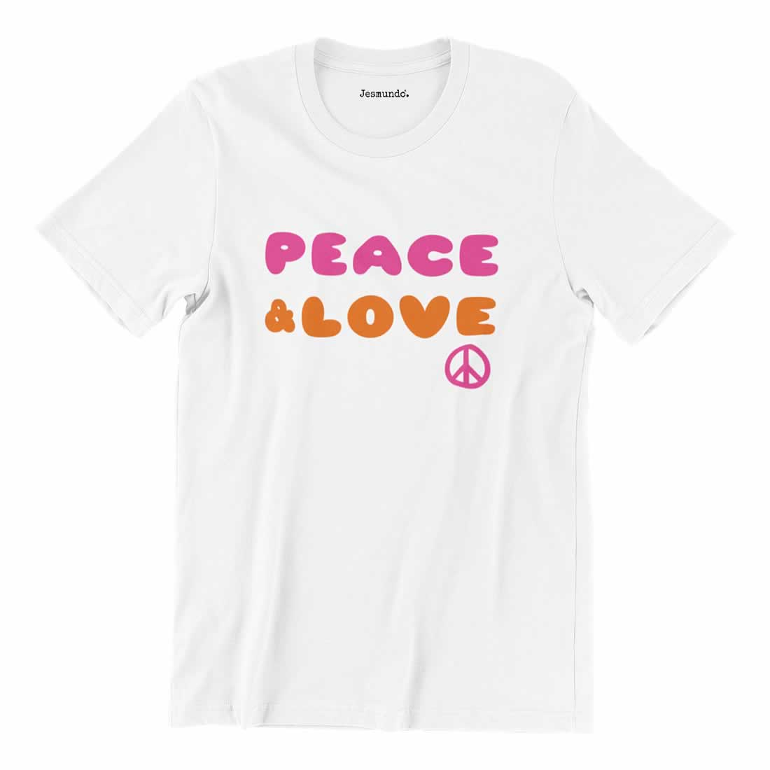 Peace And Love 60s T Shirt