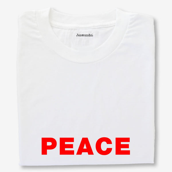 Peace Slogan Printed Tee