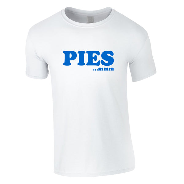 Pies mmm Tee In White