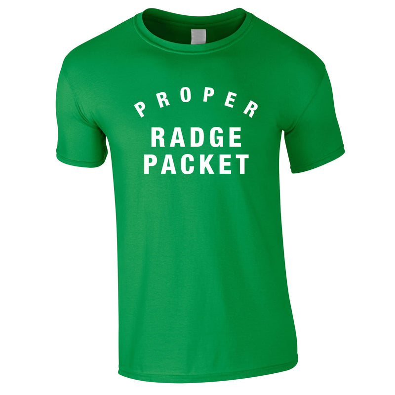 Proper Radge Packet Mens Tee In Green