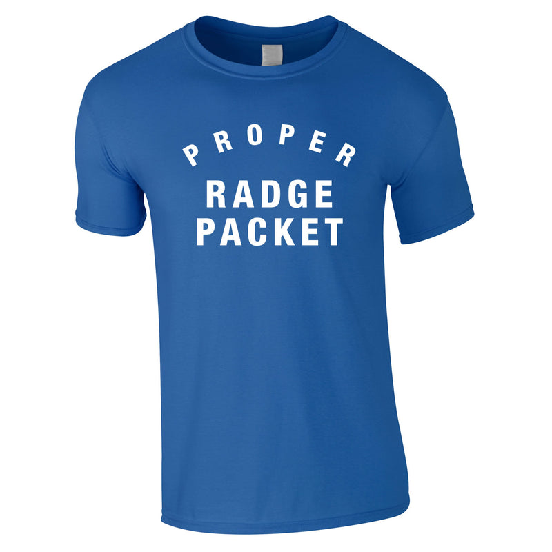 Proper Radge Packet Mens Tee In Royal