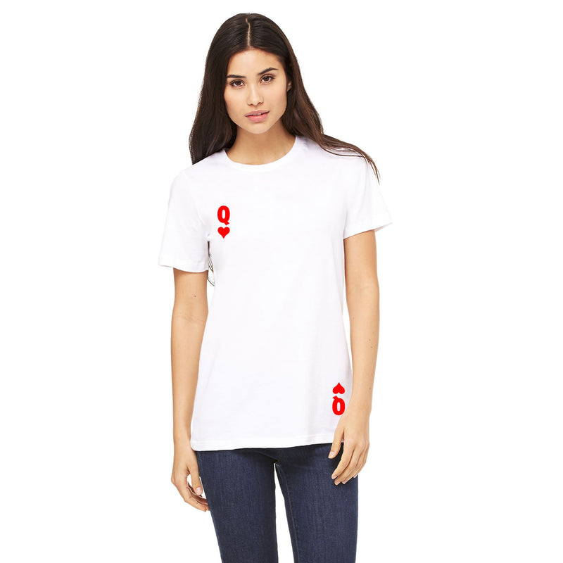 Queen Of Hearts T Shirt