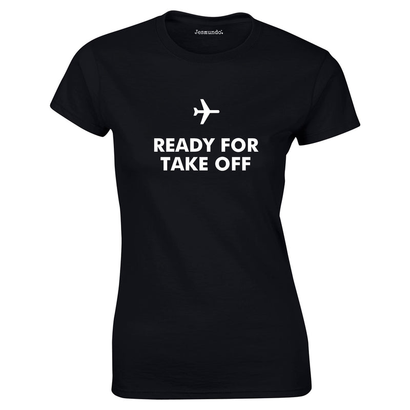 Ready For Take Off Women's Top In Black