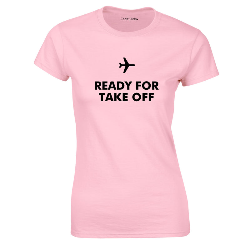 Ready For Take Off Women's Top In Pink