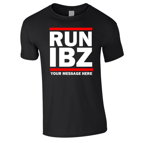 Run Ibiza Lads Holiday T Shirts