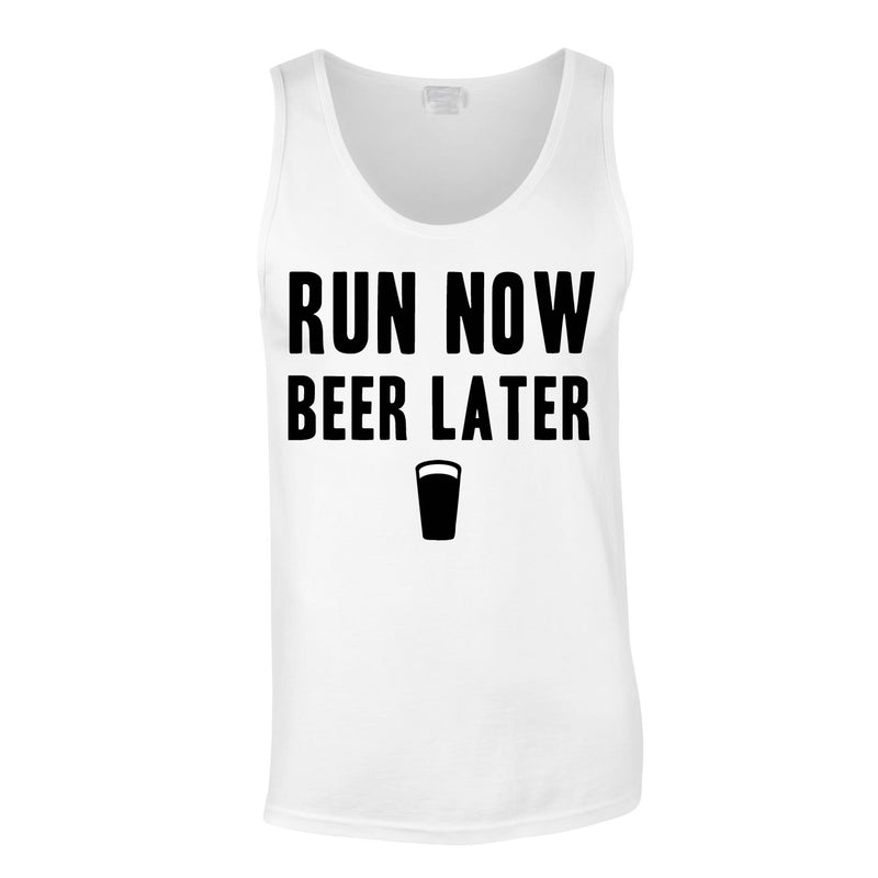 Run Now Beer Later Vest