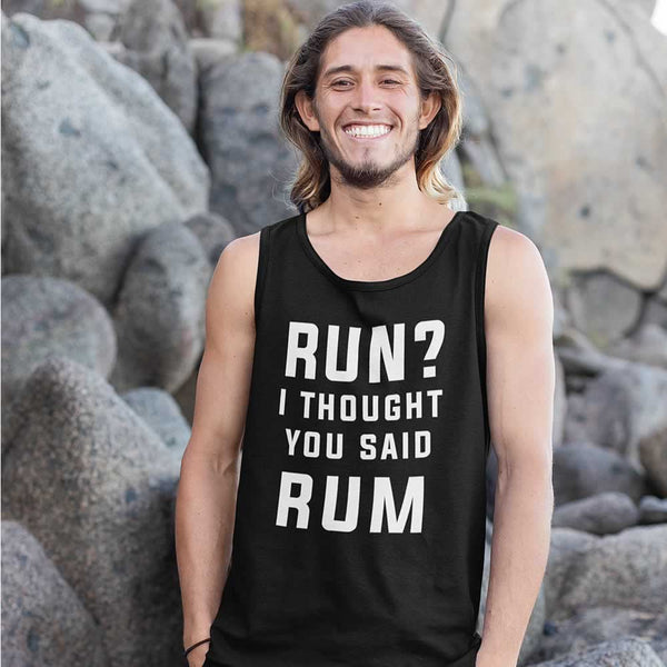 Run I Thought You Said Rum Men's Vest