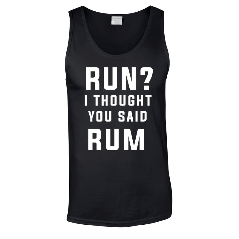 I Run Because I Like Cake Vest