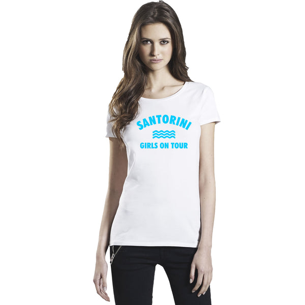 Santorini Girls On Tour Women's T Shirts