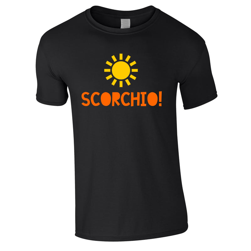 Scorchio Funny Tee In Black