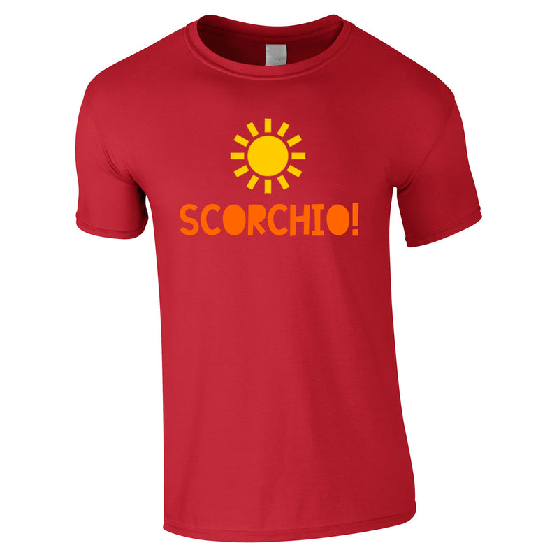 Scorchio Funny Tee In Red
