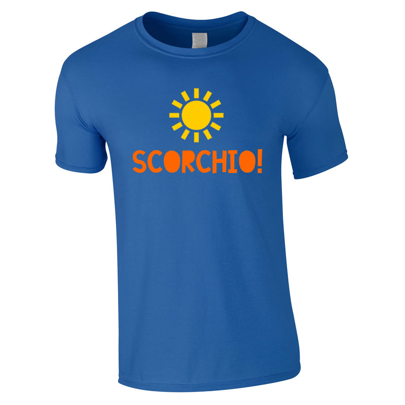 Scorchio Funny Tee In Royal