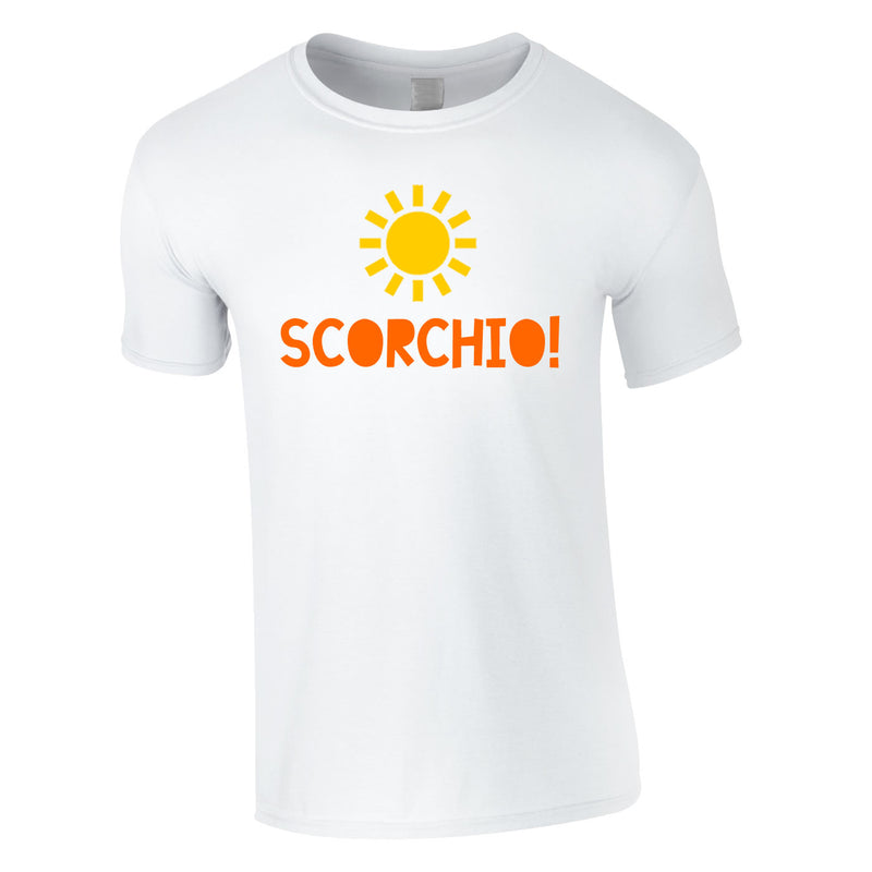 Scorchio Funny Tee In White