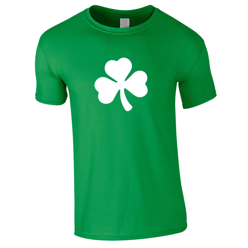 Shamrock Graphic Tee In Green