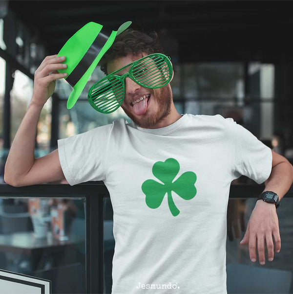 Shamrock T Shirt For St Patricks Day