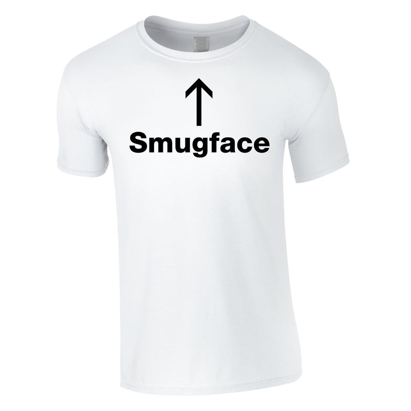 Smugface Tee In White