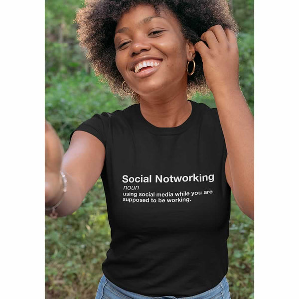 Social Notworking Women's T-Shirt