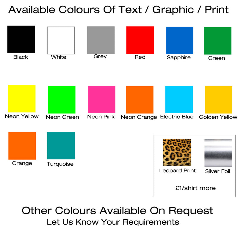 Colours of printing
