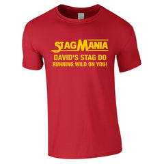 Wrestling Theme Stag Do T-Shirts
