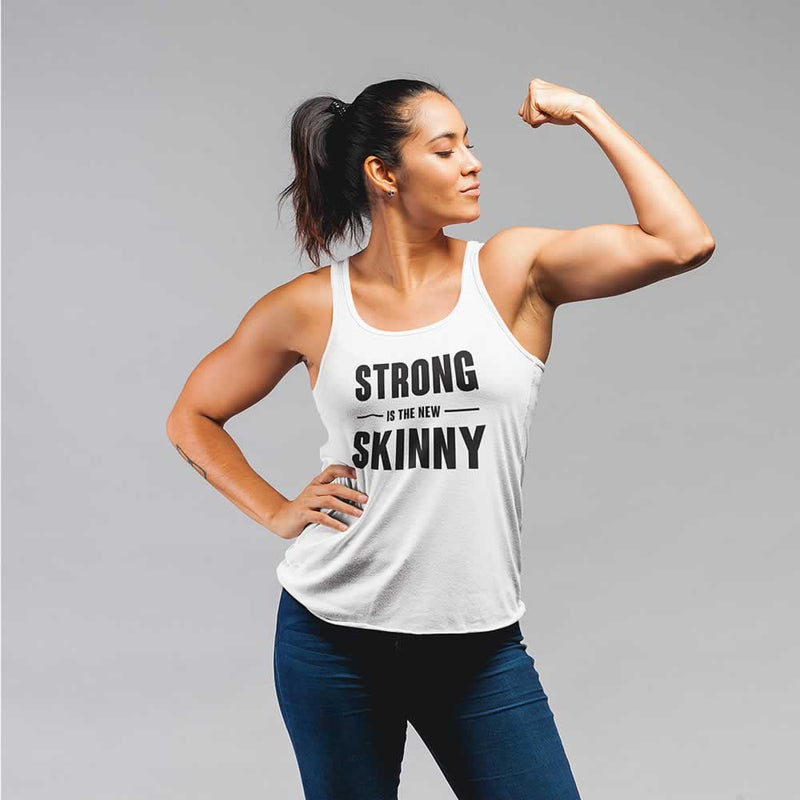 Strong Is The New Skinny Vest For Women