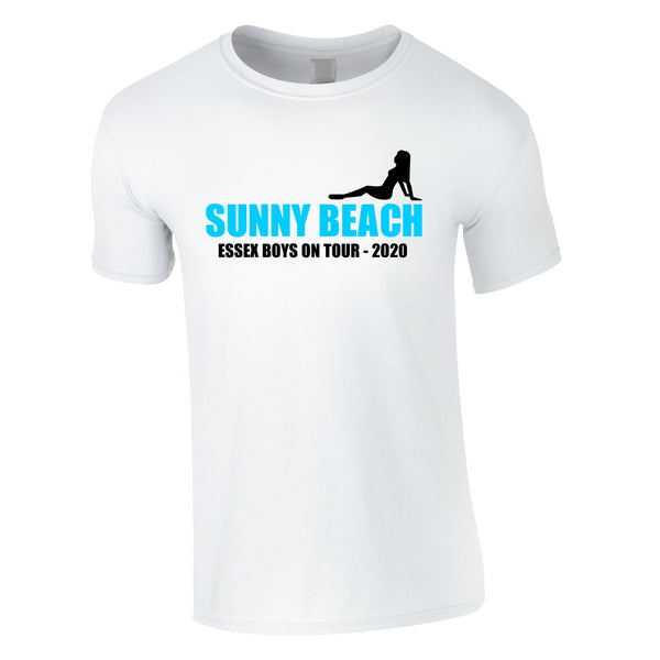 Sunny Beach Lads Holiday T Shirts