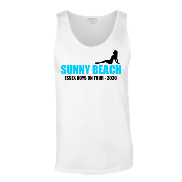 Sunny Beach Vest Top Custom Printed