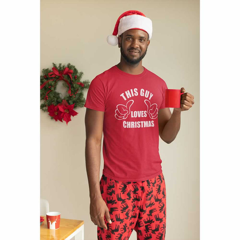 This Guy Loves Christmas Tee