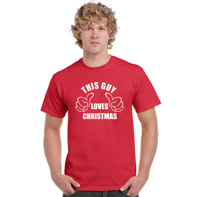 This Guy Loves Christmas T Shirt