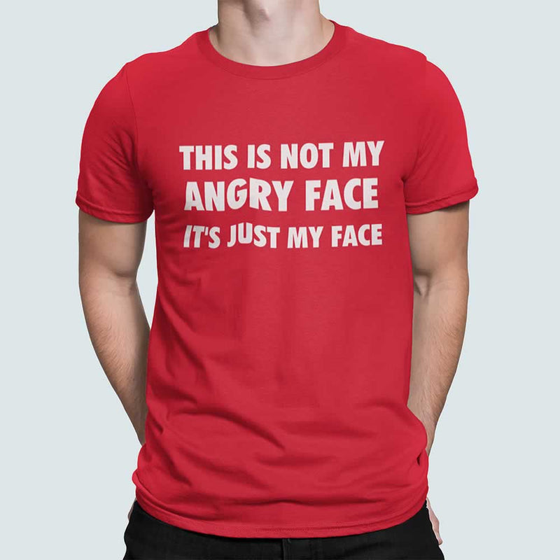 This Is Not My Angry Face T-Shirt