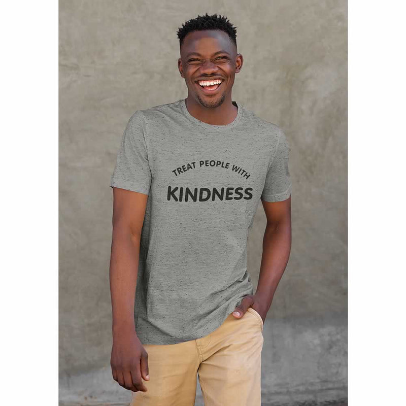 Kind People Are My Kinda People Slogan T-Shirt